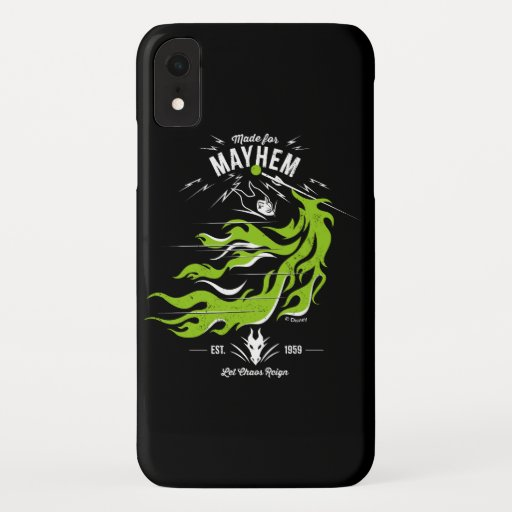 Maleficent   Made for Mayhem   Let Chaos Reign iPhone XR Case