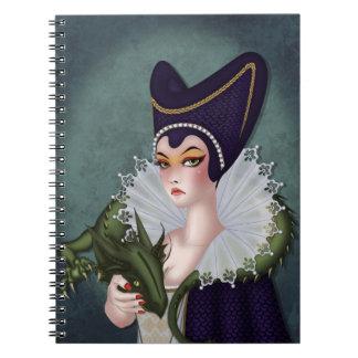 Maleficent Spiral Notebooks