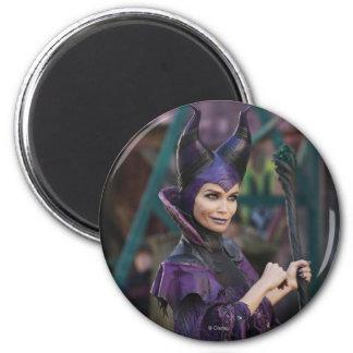 Maleficent Photo 1 2 Inch Round Magnet