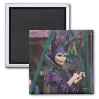 Maleficent Photo 1 2 Inch Square Magnet