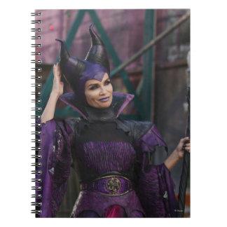 Maleficent Photo 1 2 Spiral Notebook