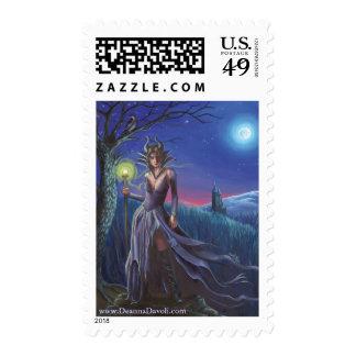 Maleficent Postage Stamp