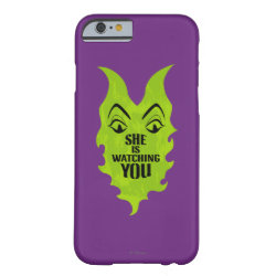 Case-Mate Barely There iPhone 6 Case with Maleficent She Is Watching You design