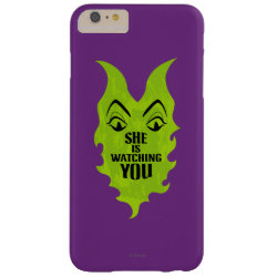 Case-Mate Barely There iPhone 6 Plus Case with Maleficent She Is Watching You design