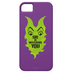 Case-Mate Vibe iPhone 5 Case with Maleficent She Is Watching You design