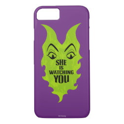 Case-Mate Barely There iPhone 7 Case with Maleficent She Is Watching You design