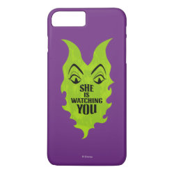 Case-Mate Tough iPhone 7 Plus Case with Maleficent She Is Watching You design