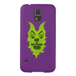Case-Mate Barely There Samsung Galaxy S5 Case with Maleficent She Is Watching You design
