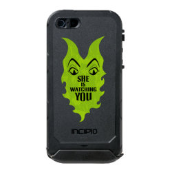 Incipio Feather Shine iPhone 5/5s Case with Maleficent She Is Watching You design