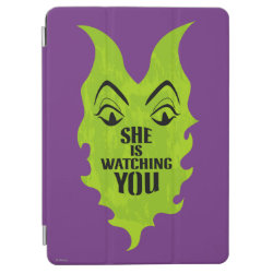 iPad Air Cover with Maleficent She Is Watching You design