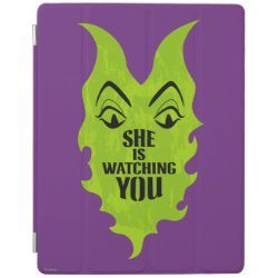 iPad 2/3/4 Cover with Maleficent She Is Watching You design