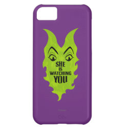 Case-Mate Barely There iPhone 5C Case with Maleficent She Is Watching You design