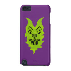 Case-Mate Barely There 5th Generation iPod Touch Case with Maleficent She Is Watching You design