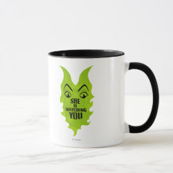 Combo Mug with Maleficent She Is Watching You design