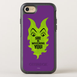 OtterBox Apple iPhone 7 Symmetry Case with Maleficent She Is Watching You design