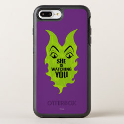 OtterBox Apple iPhone 7 Plus Symmetry Case with Maleficent She Is Watching You design