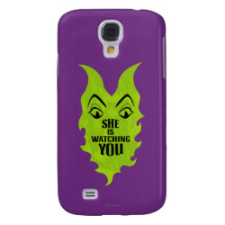 Case-Mate Barely There Samsung Galaxy S4 Case with Maleficent She Is Watching You design