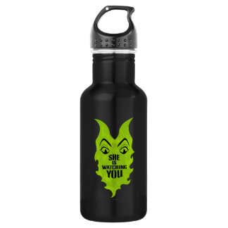 Maleficent - She is Watching You Stainless Steel Water Bottle