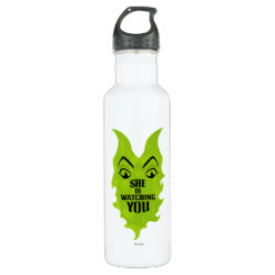 Maleficent She Is Watching You Water Bottle (24 oz)