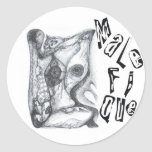 Malefique Stickers
