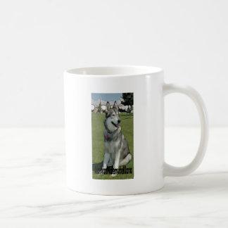 Malemute de Alaska Kiana Tazas De Café