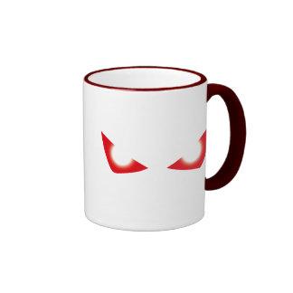 Males de ojo en usted tazas de café