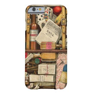 Maleta Bien-Llena vintage Funda Para iPhone 6 Barely There
