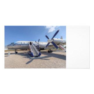 Malev Airlines Ilyushin IL-18 Card
