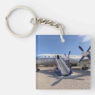 Malev Airlines Ilyushin IL-18 Keychain
