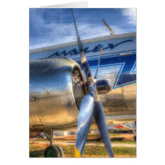 Malev Ilyushin IL-14 Aircraft Card