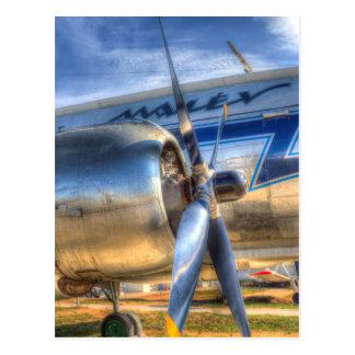 Malev Ilyushin IL-14 Aircraft Postcard
