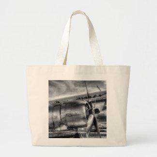 Malev Ilyushin IL-14 Large Tote Bag