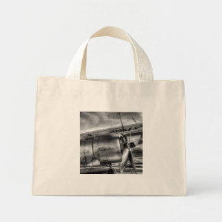 Malev Ilyushin IL-14 Mini Tote Bag