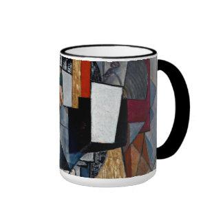 Malevich - Bureau and Room Ringer Mug