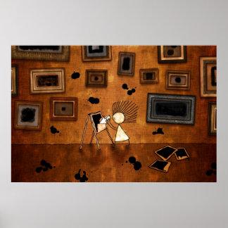 Malevich - casilla negra poster