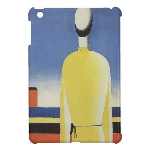 Malevich-Mitad-Figura de Kazimir en una camisa ama