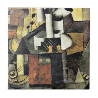 Malevich - Musical Instrument Ceramic Tile
