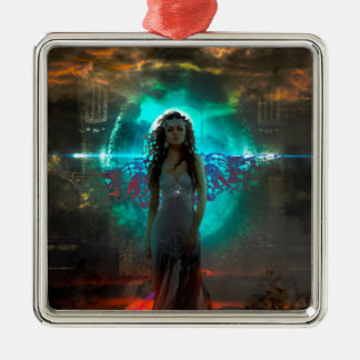 Malevolence Metal Ornament