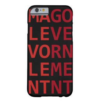Malevolent Government Barely There iPhone 6 Case