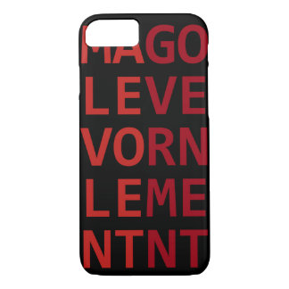 Malevolent Government iPhone 7 Case