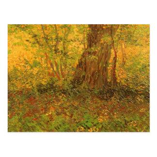 Maleza de Vincent van Gogh, bella arte del vintage Postales