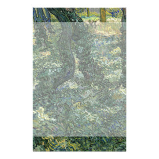 Maleza de Vincent van Gogh Tarjeta Publicitaria