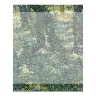 Maleza de Vincent van Gogh Tarjetas Informativas