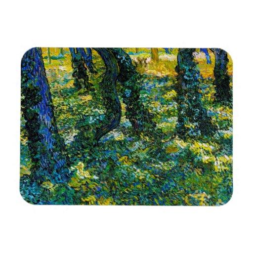 Maleza de Vincent van Gogh Imanes