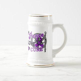 Malformación de Chiari de la curación 2 del amor d Taza De Café