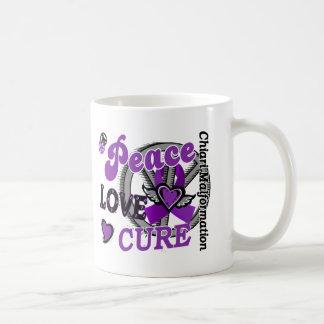 Malformación de Chiari de la curación 2 del amor d Tazas De Café