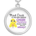 Malformación enojada de Chiari de la mariquita del Collares Personalizados