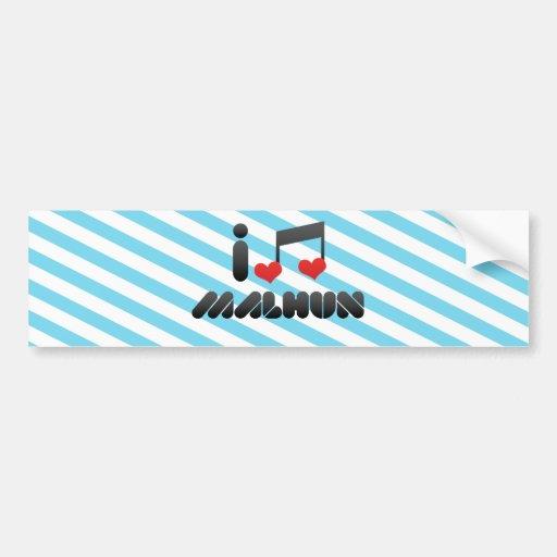 Malhun Bumper Sticker