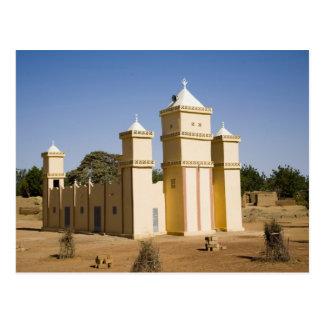 Malí, Bamako. Mezquita, camino de Bamako-Djenne Tarjetas Postales