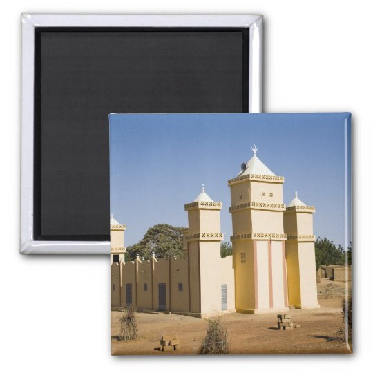 Mali, Bamako. Mosque, Bamako-Djenne Road Magnet